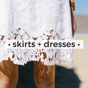 Other - • skirts + dresses •